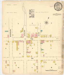 Plan von Aurora 1890
